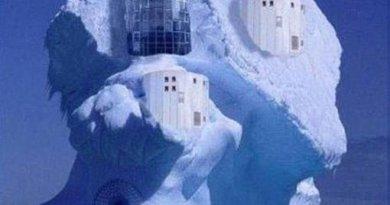 kuća u ledu