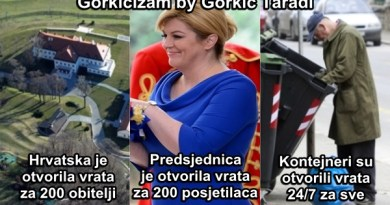 Hrvatska je otvorila vrata za 200 obitelji! Predsjednica je otvorila vrata za 200 posjetilaca! Kontejneri su otvoreni 24/7 za sve!