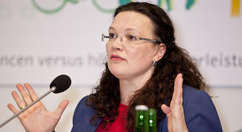 Njemačka ministrica rada Andrea Nahles