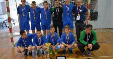Pobjednička ekipa učenika OŠ Strahoninec