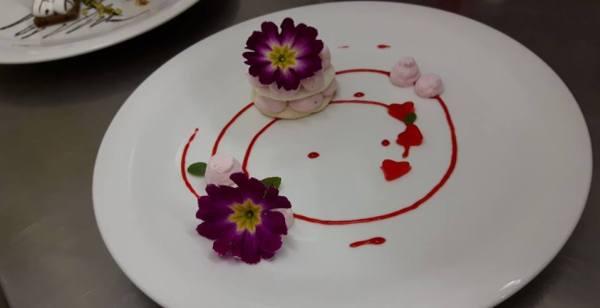 Desert za Valentinovo