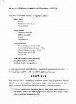 Zahtjev inicijative 15 opozicijskih stranaka za regularne izbore upućenog DIP-u
