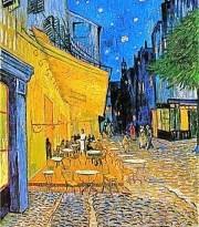 Café Terrace at Night by Vincent Van Gogh