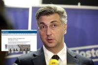 Presse ismijava Plenkovića