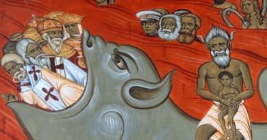 Foto: AFP / Savo Prelević / Freska u crkvi Kristova uskrsnuća u Podgorici