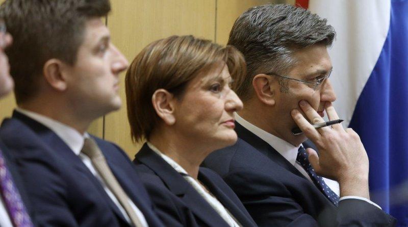 Zdravko Marić, Martina Dalić i Andrej Plenković