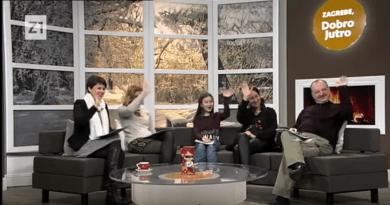 Predstavljanje udruge Mlada pera iz Čakovca na Z1 televiziji