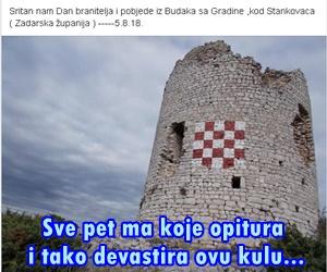 Sritan nam Dan branitelja i pobjede iz Budaka sa Gradine ,kod Stankovaca ( Zadarska županija )