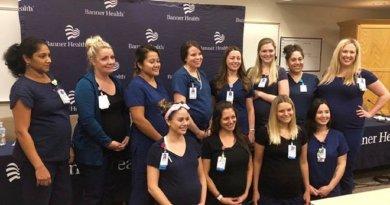 16 medicinskih sestara iz iste bolnice zatrudnjelo u isto vrijeme