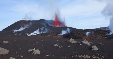 Island, planina Katla, erupcija vulkana,