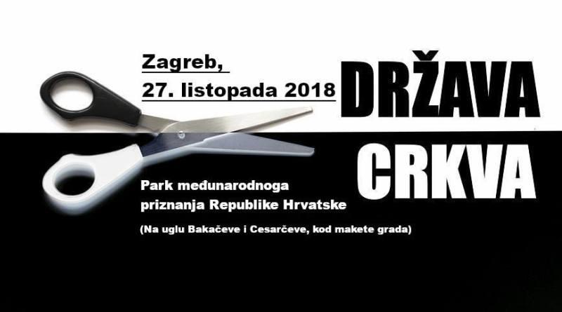 Za sekularnu Hrvatsku!