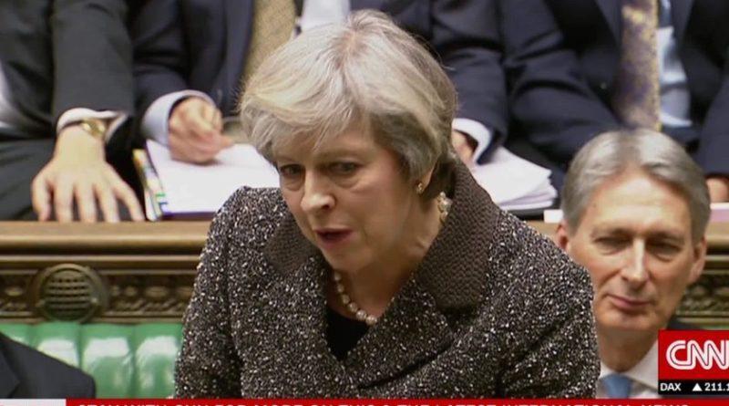Britanski parlament odbio sporazum o Brexitu
