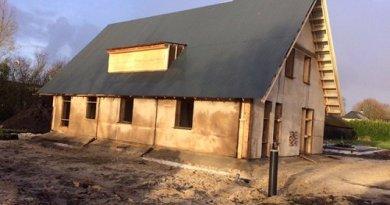 Nizozemska tvrtka predstavila prvu montažnu kuću sagrađenu isključivo od konoplje