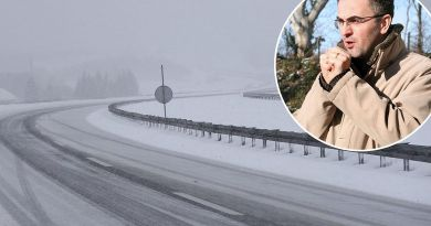Vakula: Bit će brzo, naglo i žestoko, slijedi osjetan pad temperatura i prometni kaos, odgodite putovanja
