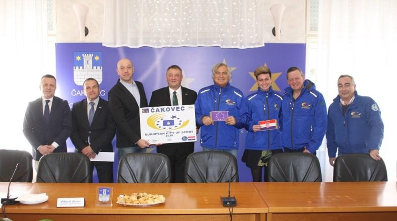 Čakovec kandidiran za Europski grad sporta 2020. godine
