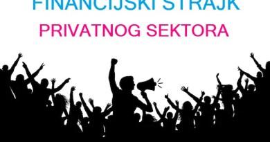 1. financijski štrajk privatnog sektora