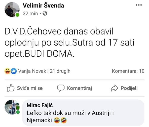 DVD Čehovec