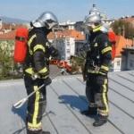VIDEO: Oh na na na prometne policije i vatrogasaca