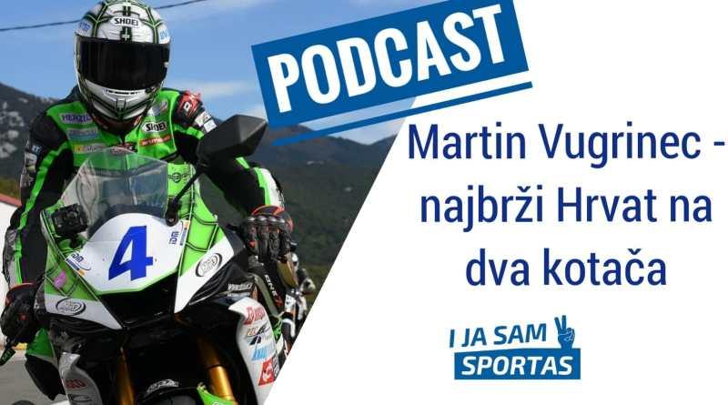 Martin Vugrinec: San mi je utrkivati se s Valentinom Rossijem