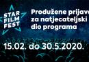 7.Star Film Fest: Produžene prijave za natjecateljski dio programa
