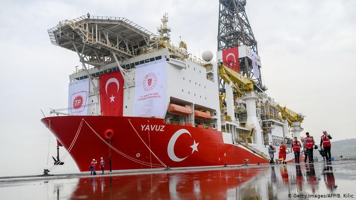 """Turski brod za eksploataciju nafte i plina """"Yavuz"""""""