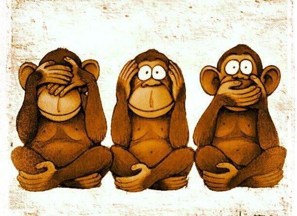 Tri majmuna ne žele više biti tri majmuna