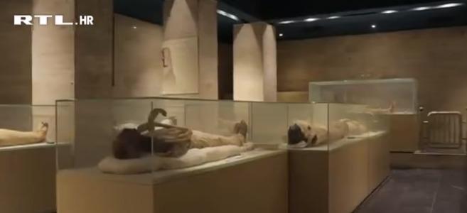 U 'Zlatnoj povorci' 22 faraona preseljena su u novo počivalište