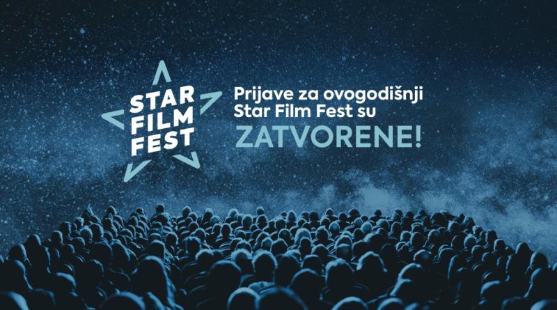 Zatvorene prijave filmova za ovogodišnje izdanje Star Film Festa