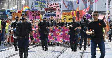 Dvadeseta Povorka ponosa LGBTIQ zajednice, osoba i duginih obitelji Zagreb Pridea