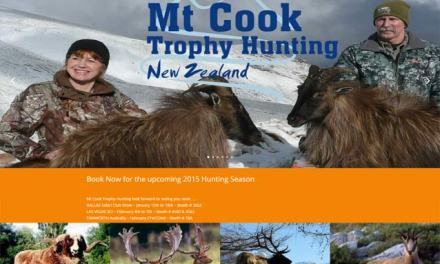 Mt Cook Trophy Hunting – Redesign