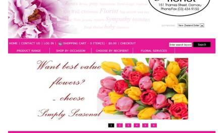 Jonell's Florist – Oamaru