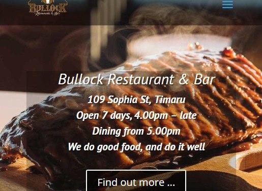 Bullock Restaurant & Bar, Timaru