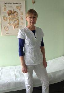 Bendros praktikos gydytoja Aušra Zaleskienė, Vilniuje