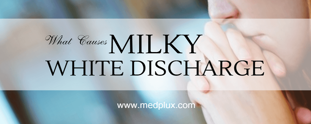White milky discharge from breast