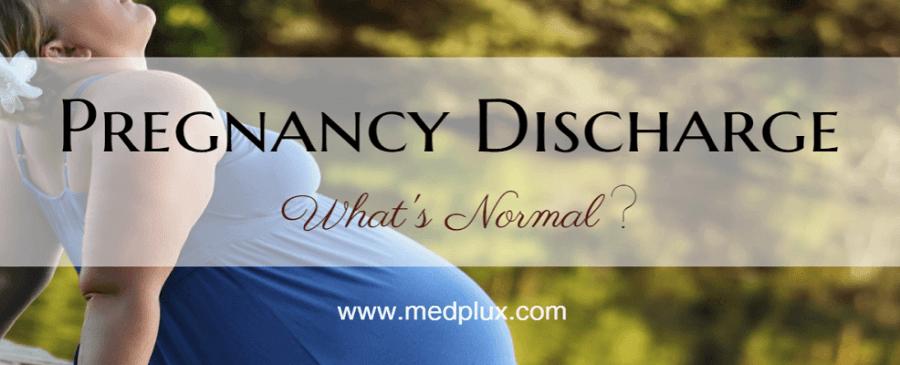 pregnancy discharge