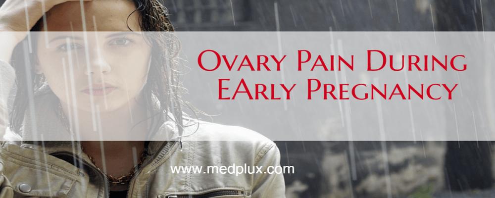 Dull ache in left side of abdomen in early pregnancy