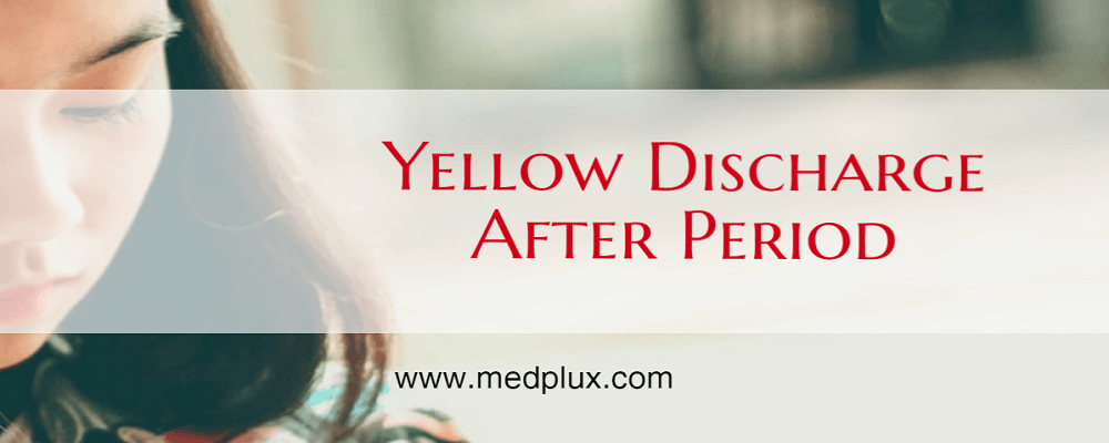 Yellow Discharge After Period Or Pregnancy Odor, Itchy 7 -1071