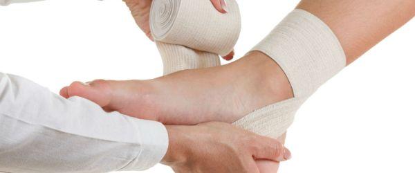 foot compression bandage