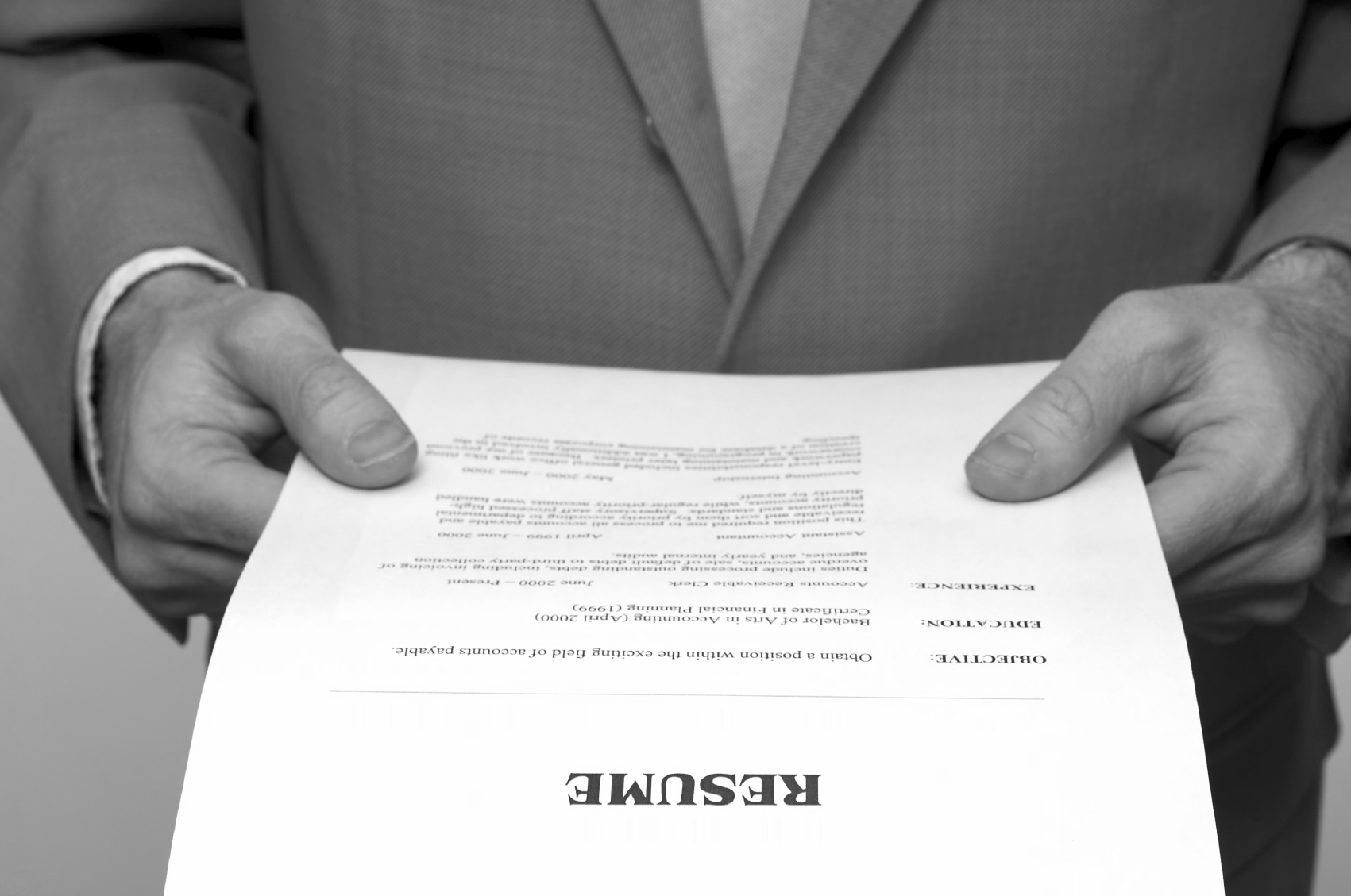 best resume formats and examples getting your foot in the door
