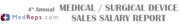 Medical and Surgical Device Sales Salaries