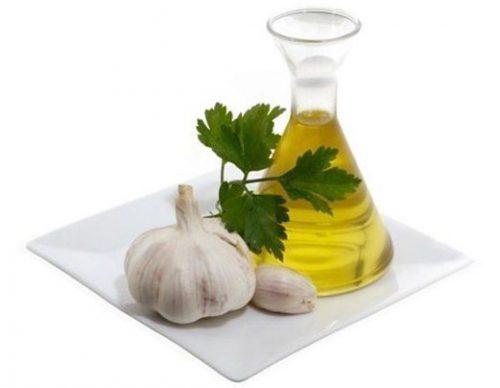 чесночное масло для лечения отита