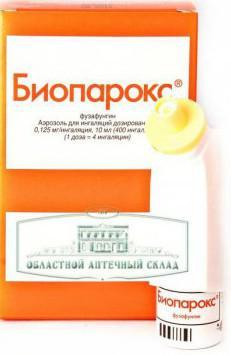 Биопарокс одно из лучших средств