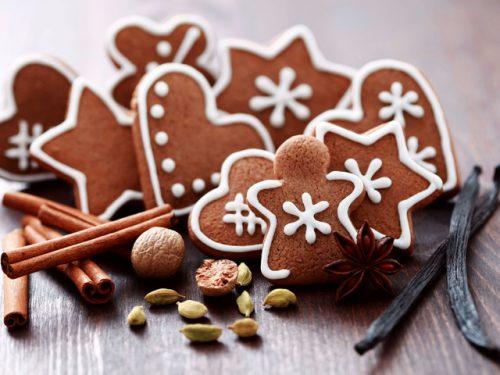 печенье и имбирь