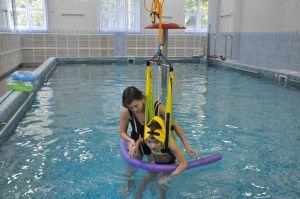 Тренажер Гросса в бассейне