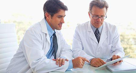 лечение бронхита под присмотром врача