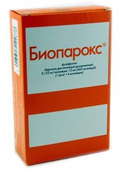 Биопарокс - антибиотик местного применения