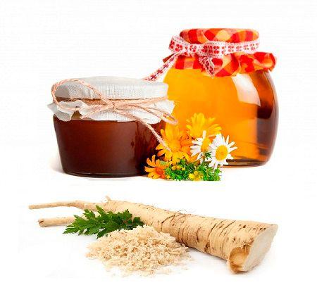 Корень хрена с медом для лечения гнойного бронхита