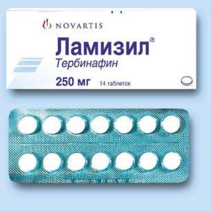 Ламизил таблетки от грибка