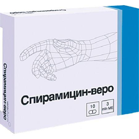 Антибиотик спирамицин для лечения острого бронхита
