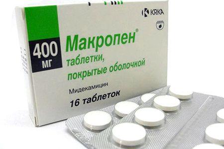 макропен антибиотик при бронхите